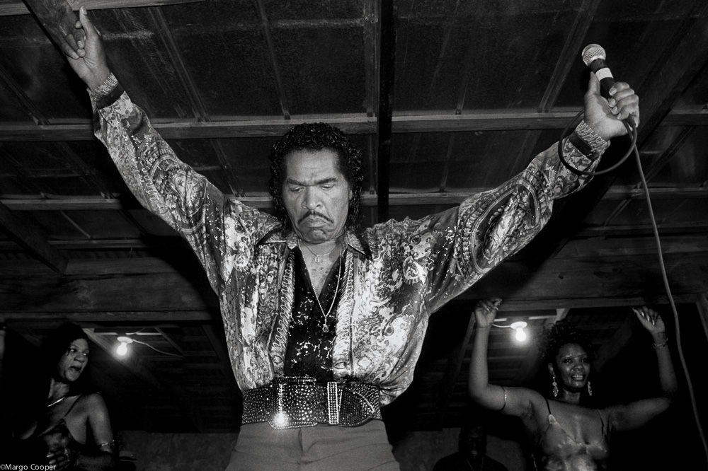 Bobby Rush and dancers, McComb, Mississippi   © Margo Cooper All Rights Reserved. No part of this website may be reproduced, stored in a retrieval system, or transmitted in any form without prior written permission.