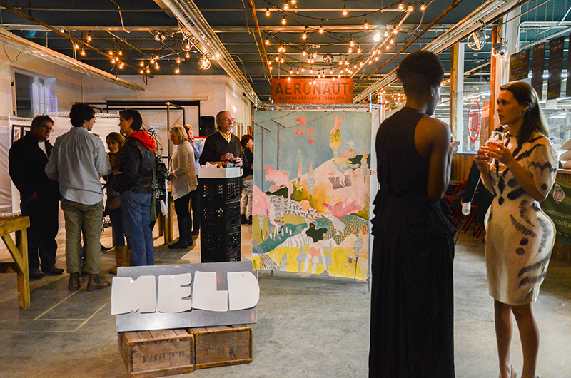 March 6th 2015 Opening at Aeronaut Brewery