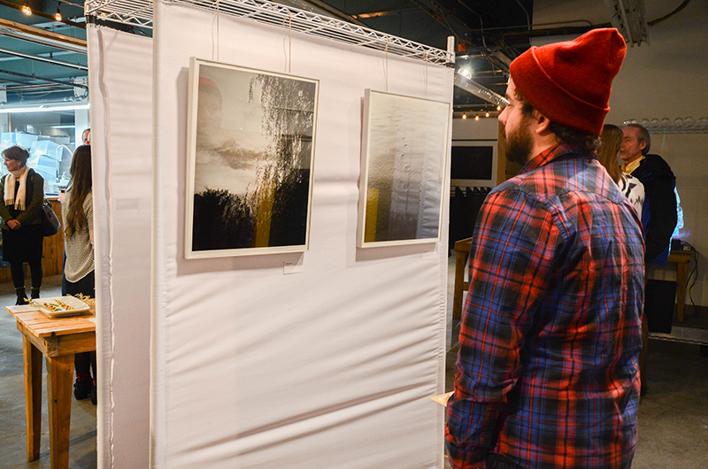 'Untitled 1' and 'Untitled 2' by Anthony Fusco