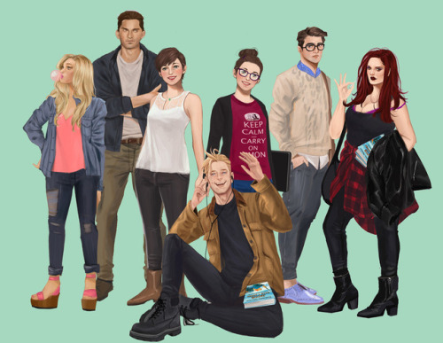 THE FANGIRL CAST by Mara Miranda-Escota