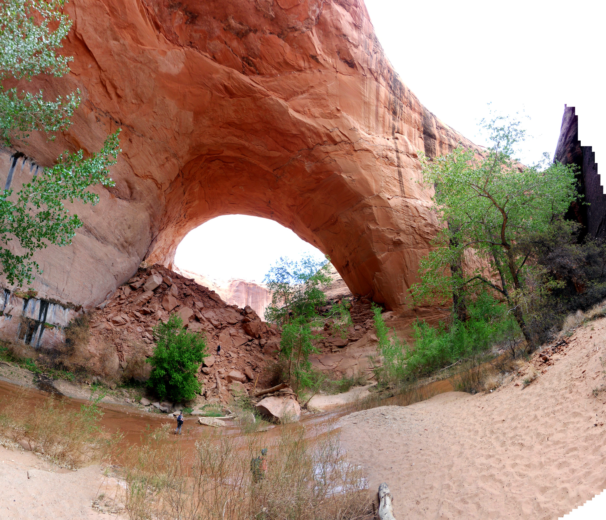 Sitting at the base of Jacob Hamblin Arch is my favorite place