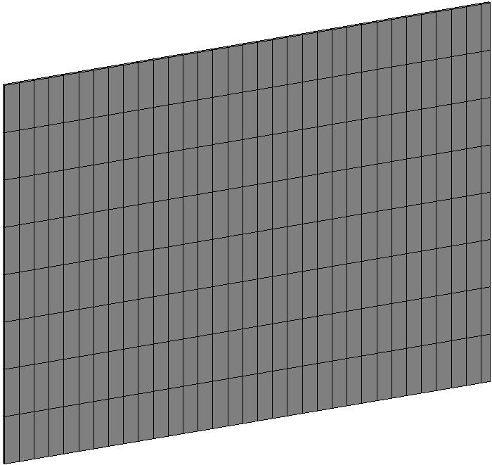 Initial Tile Wall
