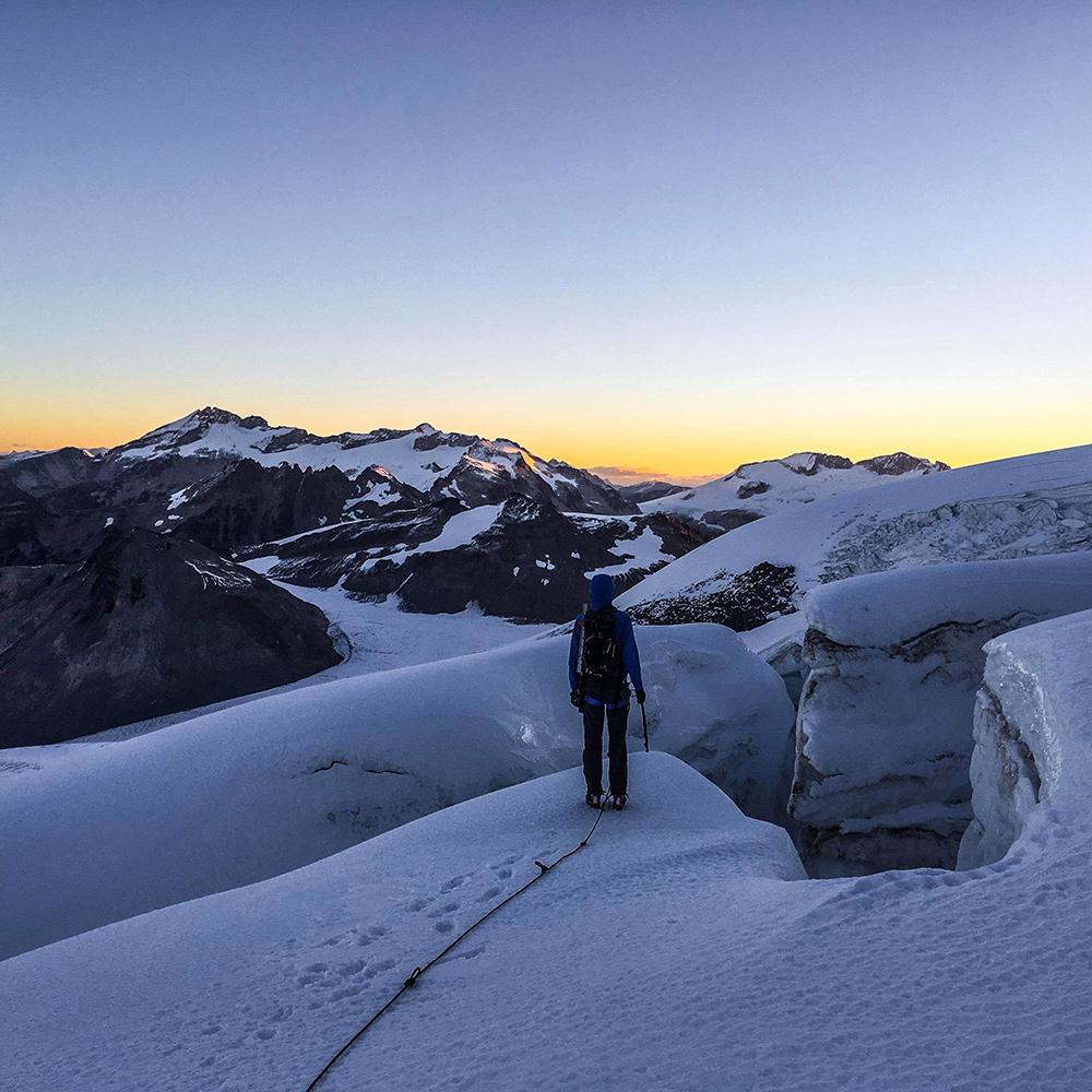 Quite the sunrise! Photo: Eric Carter