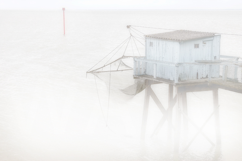 """""""Fishing Hut, Talmont""""  by Irene Froy - 3rd"""