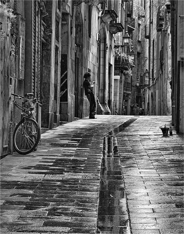 """""""Old Barcelona"""" by Roger Hague - C"""
