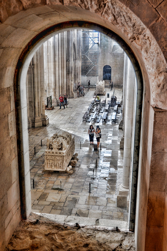 Cathedral Through the Window by Fran Hartshorne - C