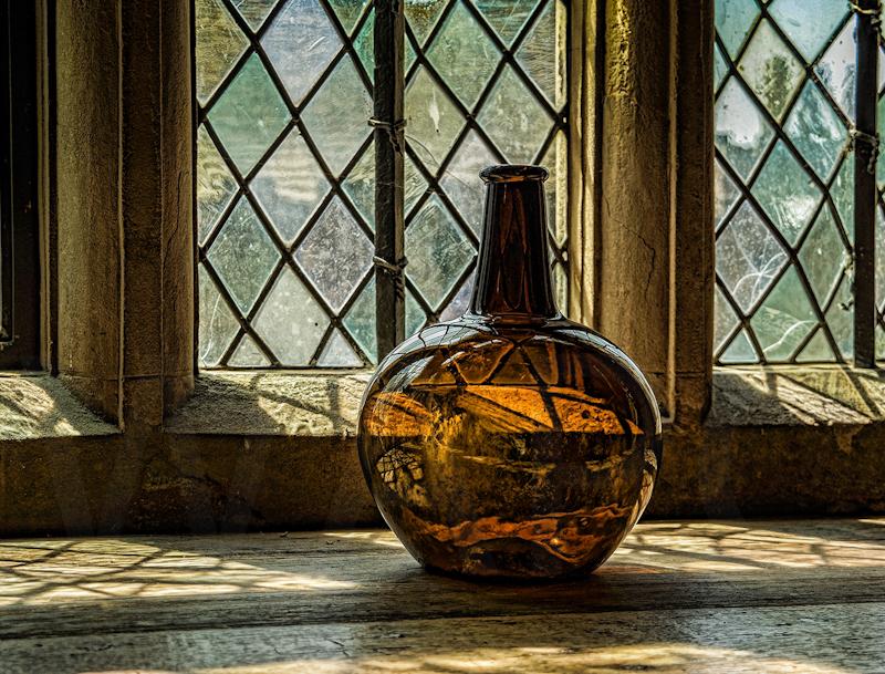Bottle and Window by Fran Hartshorne - 1st