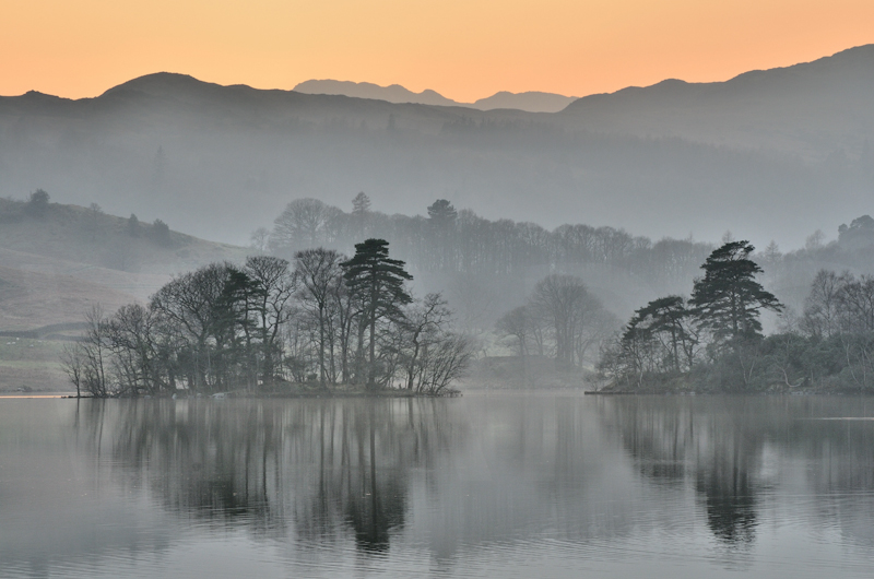 Rydal Afterglow by Chris Lewis-Commended