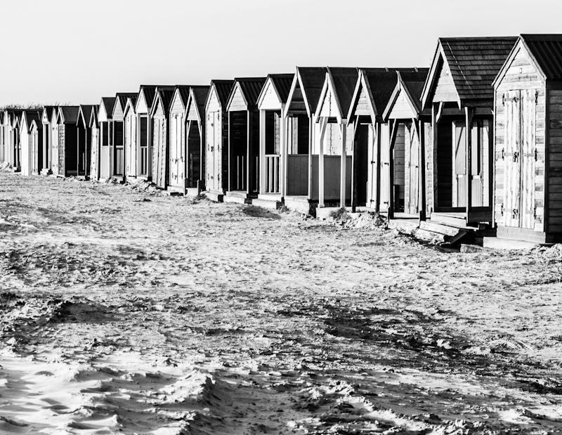 Beach Huts by John Sweetland- 3rd