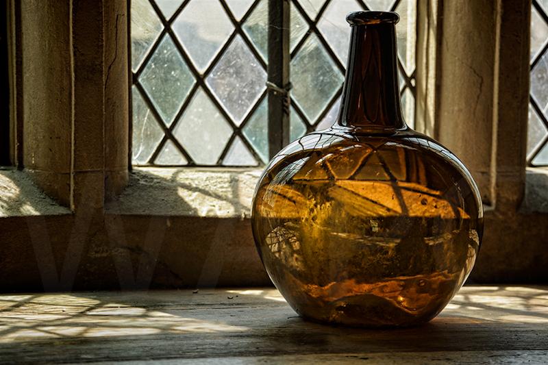 Bottle and Window by Fran Hartshorne - C
