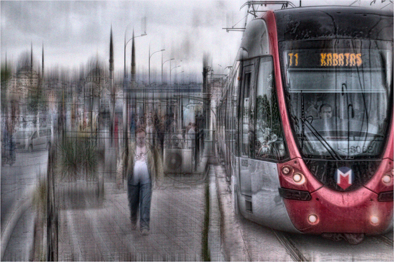 """T1 tram-Istanbul"" by Calvin Downes (A-cPDI)"
