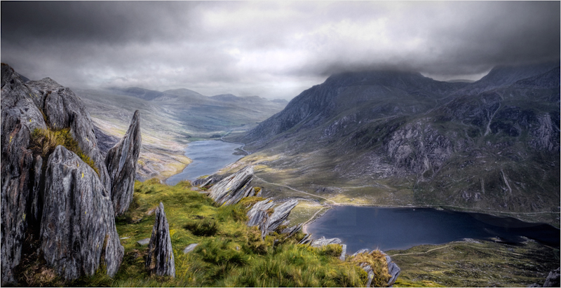 The Ogwen valley No1