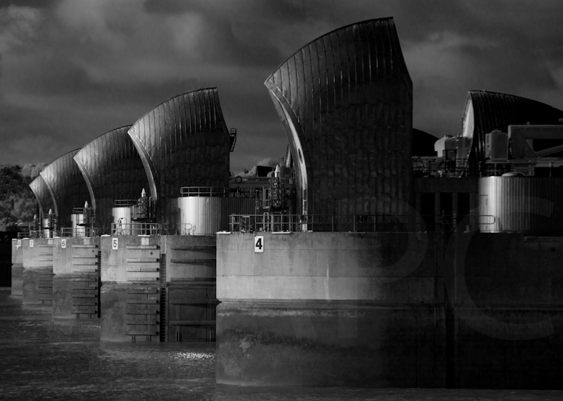 Thames Barrier by Tim Growcott