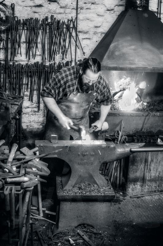 The Blacksmith by John Sweetland