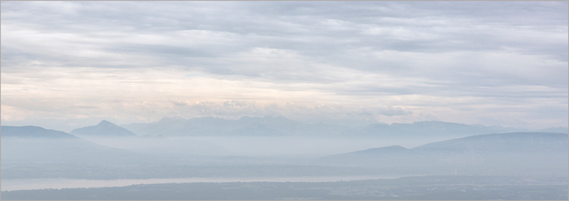 Mountains Clouds and Mists by Janet Griffiths
