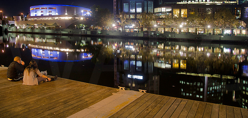 Evening in Melbourne