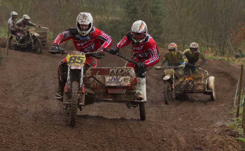 Sidecar Race Leaders by Andy Yardley - Second (int)