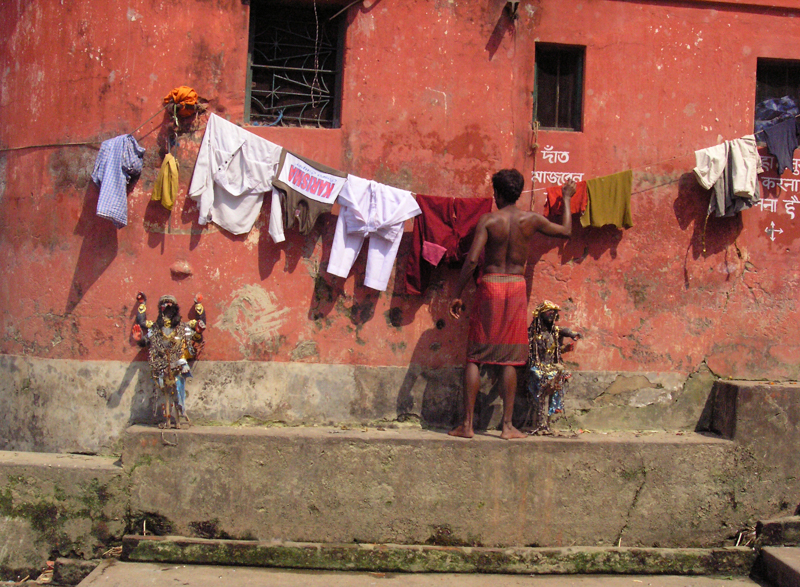 Hanging out the Washing Kolkata