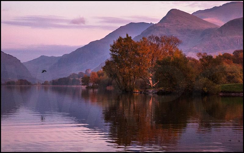 Evening Light at Llyn Padarn by Ian Griffiths - C (Int col)