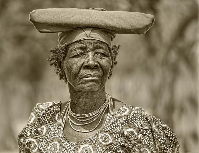 Herero Lady by Audrey Price 1st (Adv mono)