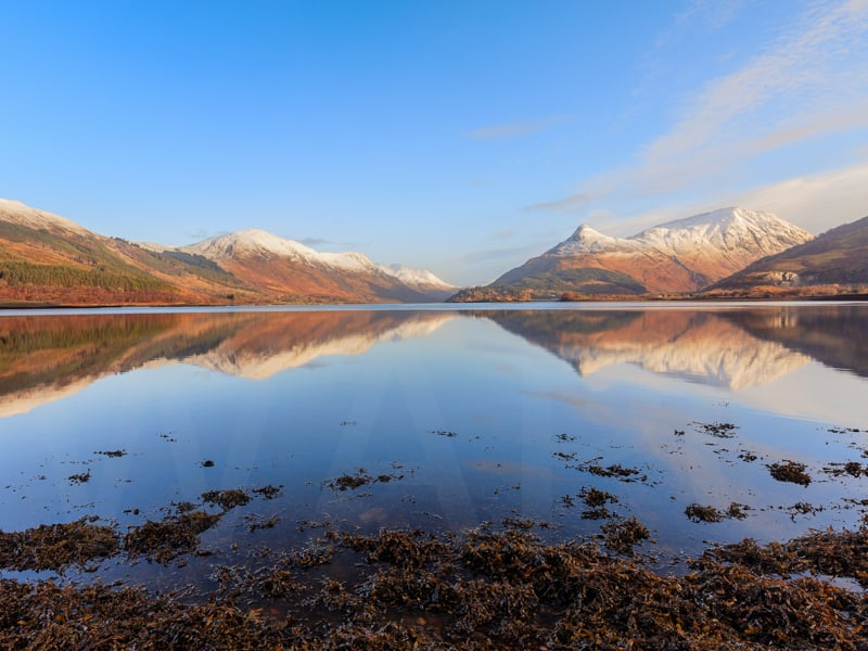 Loch Leven Mirror by David Slaughter - HC (int)