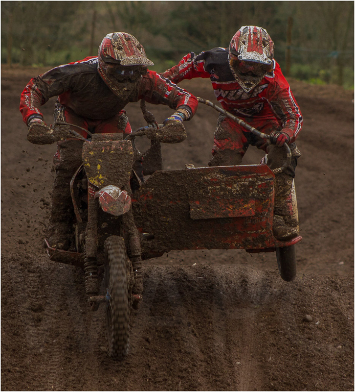 Motocross Sidecar by Andy Yardley - 1st (Int)