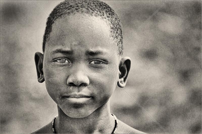 Himba Boy by Audrey Price - 3rd (Adv mono)