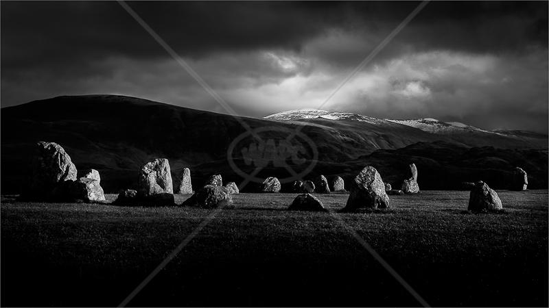 Light at Castlerigg by Norman O'Neill - 3rd (Adv mono)