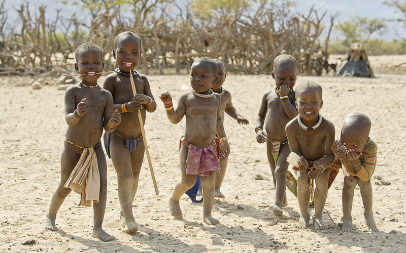 Himba Boys by Russell Price - C (Adv col)
