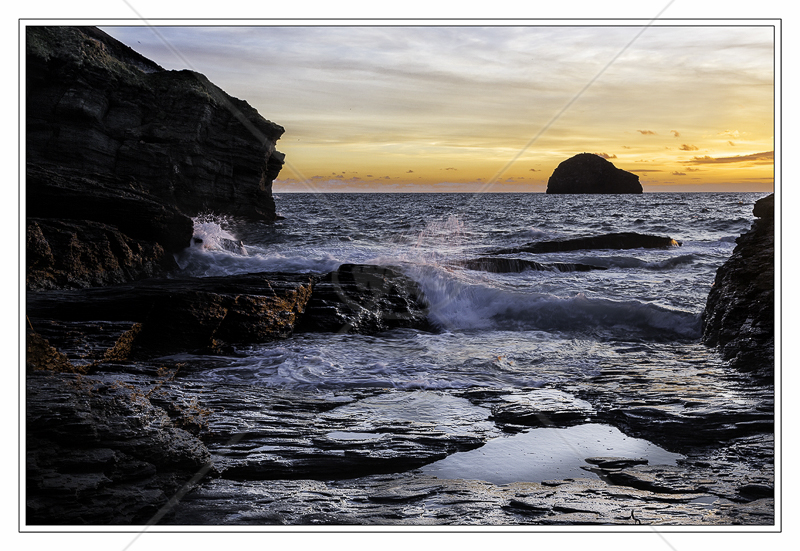 Trebarwith Strand by Janet Griffiths - C (Adv col)