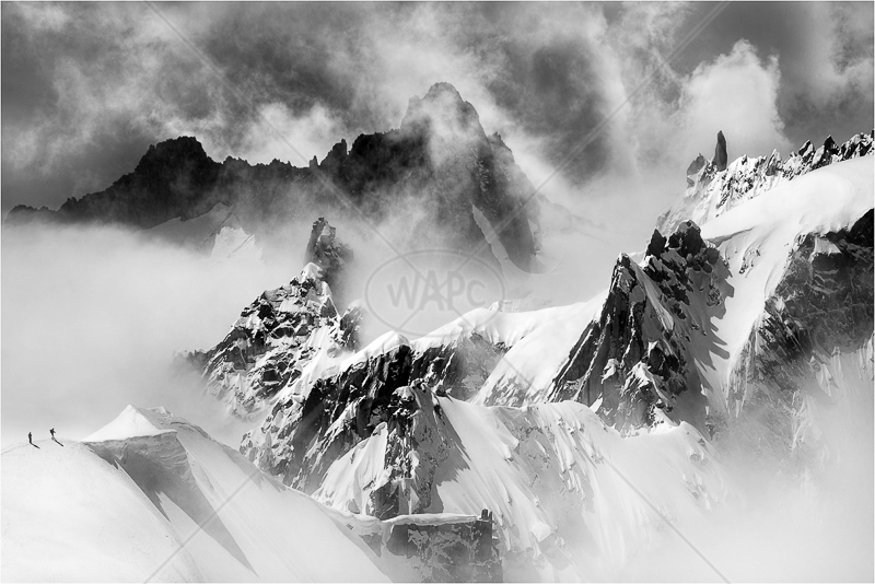 A Hard Descent by Jon Baker - 1st (adv mono)