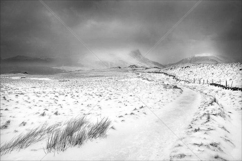 Snowdonia Winter by Jon Baker - C (Adv mono)