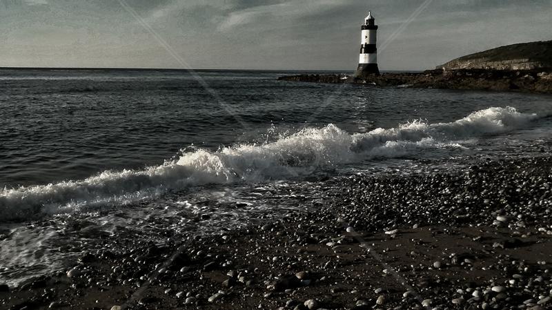 Penmon Lighthouse by Geoff Owen - C