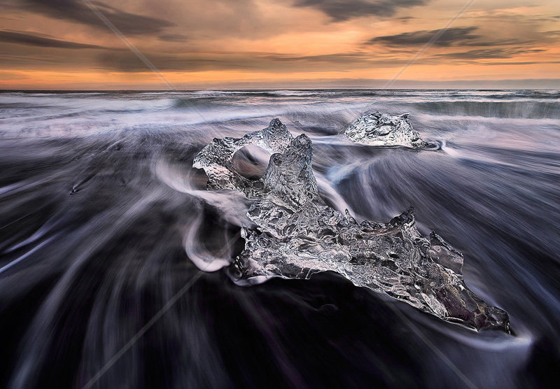"RPS Gold medal Best landscape (Col) - ""Ice and Sea"" by Lingyun Mao"