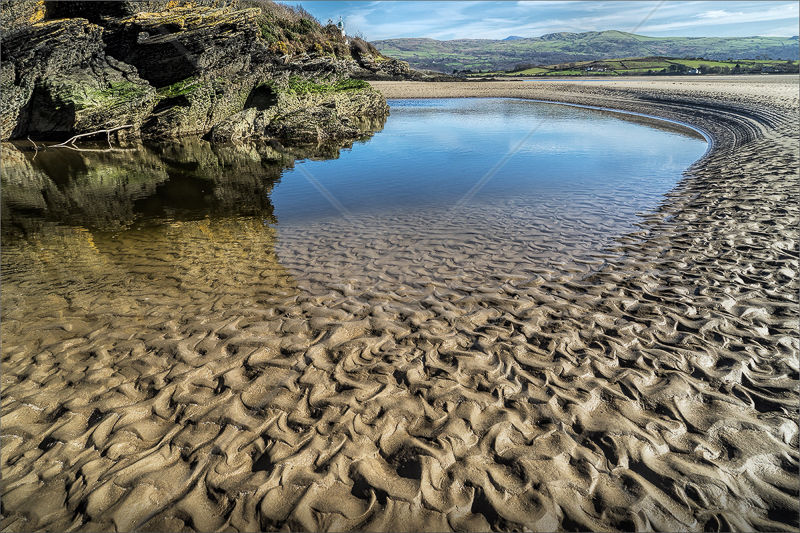 Sand Ripples by Calvin Downes - C (PDI)