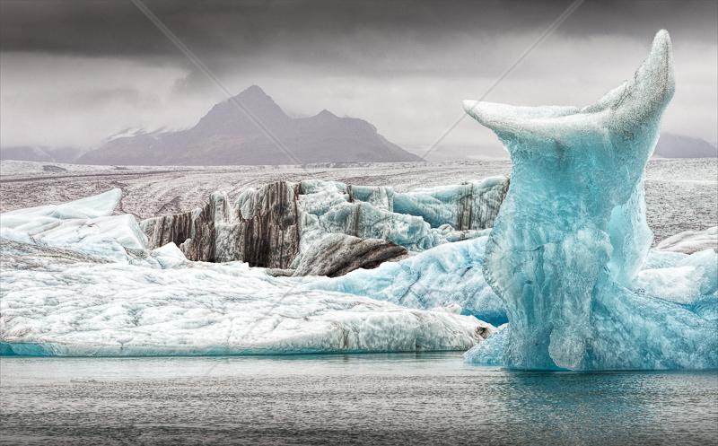 Jokulsarlon Ice sculpture