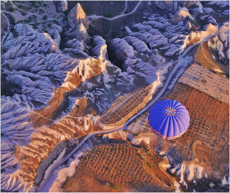 Looking Down - Sunrise over Cappadocia, Turkey by Andy Udall - 2nd (Int)