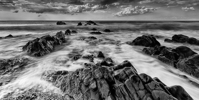 Sandymouth Beach by Norman O'Neill - 2nd (Adv mono)