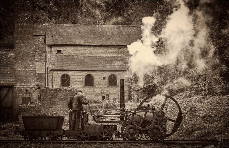 The Engine Works by Hugh Stanton - C (Adv mono)