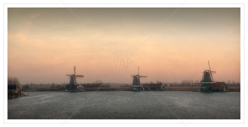 Dutch Sunrise by Calvin Downes - Print - C