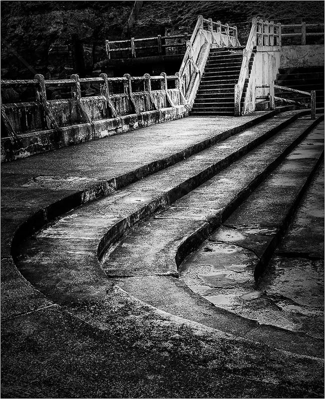 Tynemouth Sea Pool by Carole Mathews - Print - C