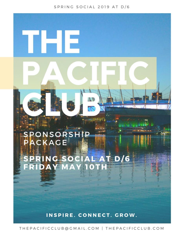 Pacific Club Spring Social