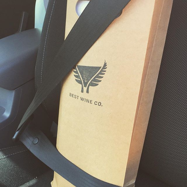 When they ask if we take safety seriously... . . . #bestwineco #winedelivery #nzwine #dogpointvineyard  #magnum #betterwaytodrink #safety #pinotnoir #nzpinotnoir