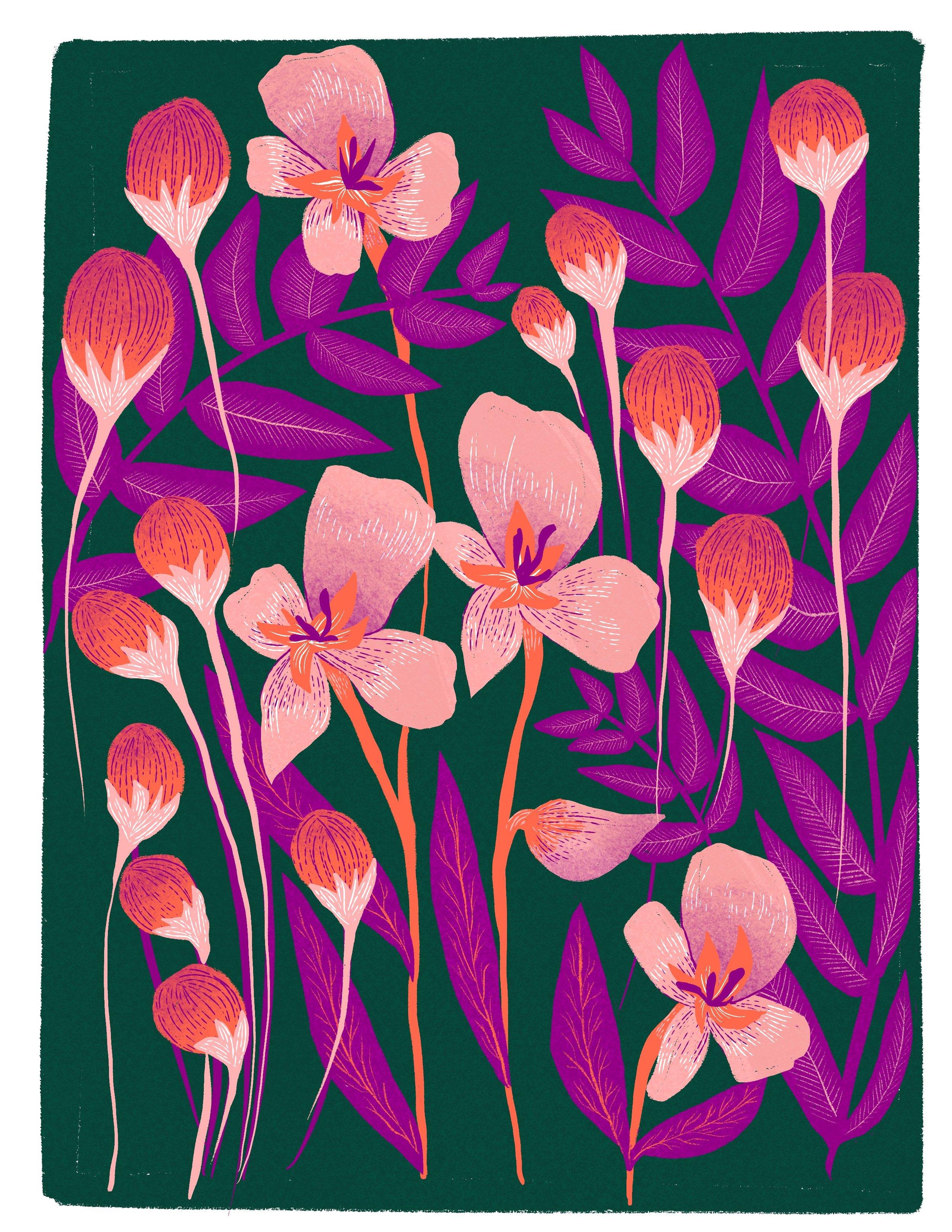 190820_Vintage Flowers Pink Purple_Mallory Cohn.jpg