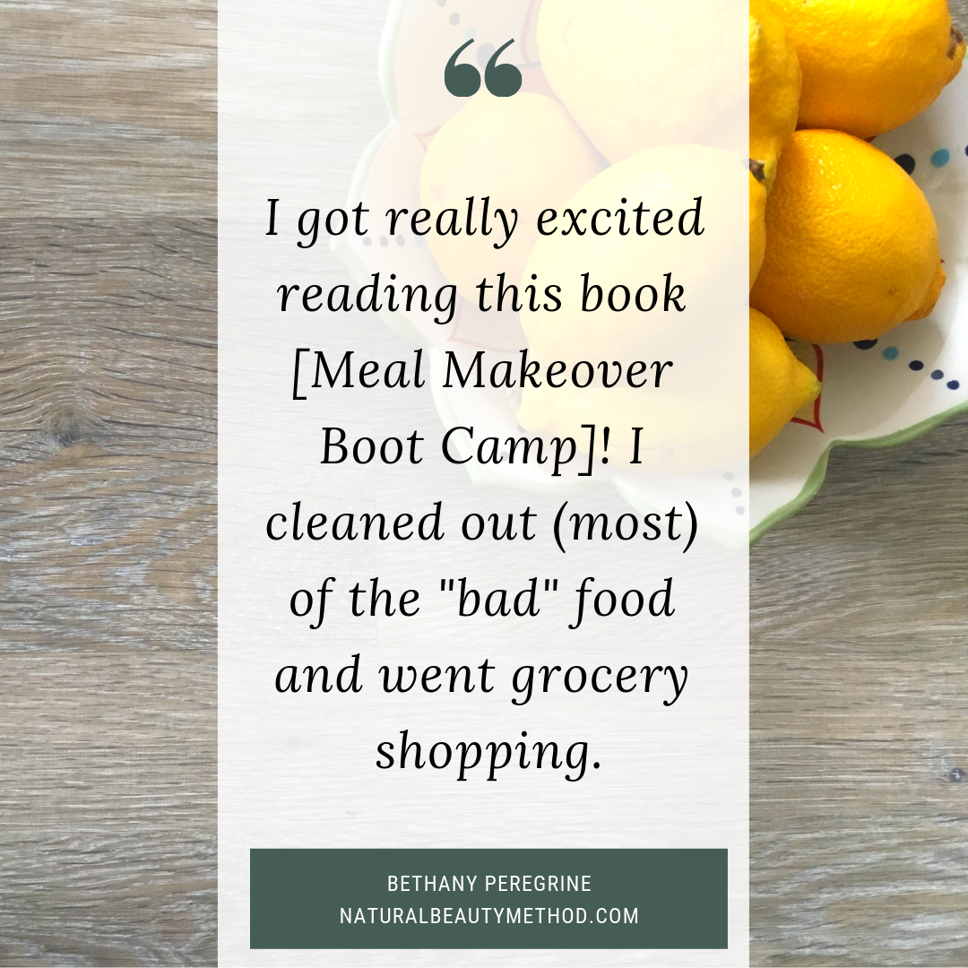 Meal Makeover Boot Camp Testimonial