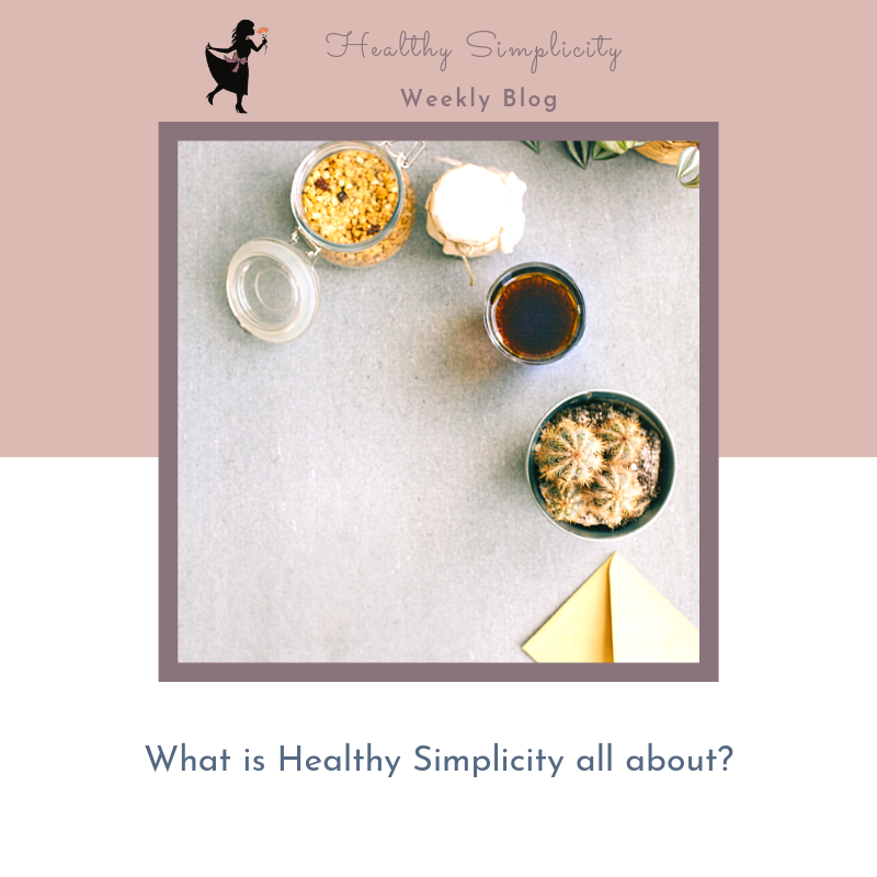 Do want to learn how to simplify healthy living?
