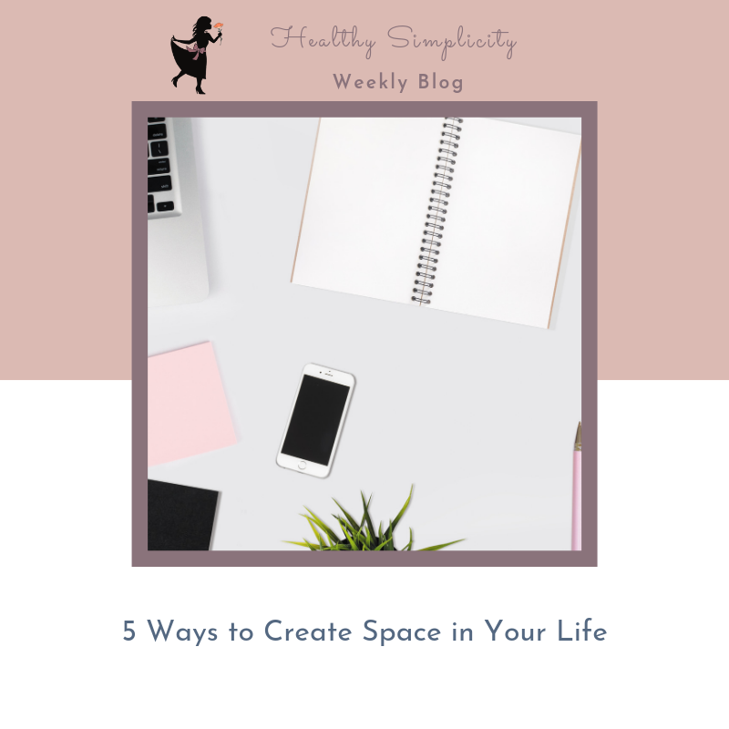Do you need more space to play in your life?
