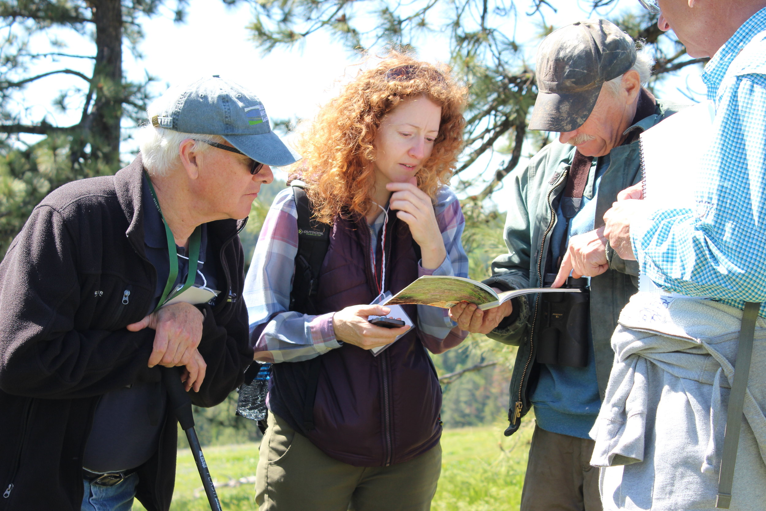 Explore Nature With an Expert Guide - Scientists will lead you on a special informative tour, pointing out the special natural attractions around Fort Walla Walla Natural Area.Photo by Rick Pummel.