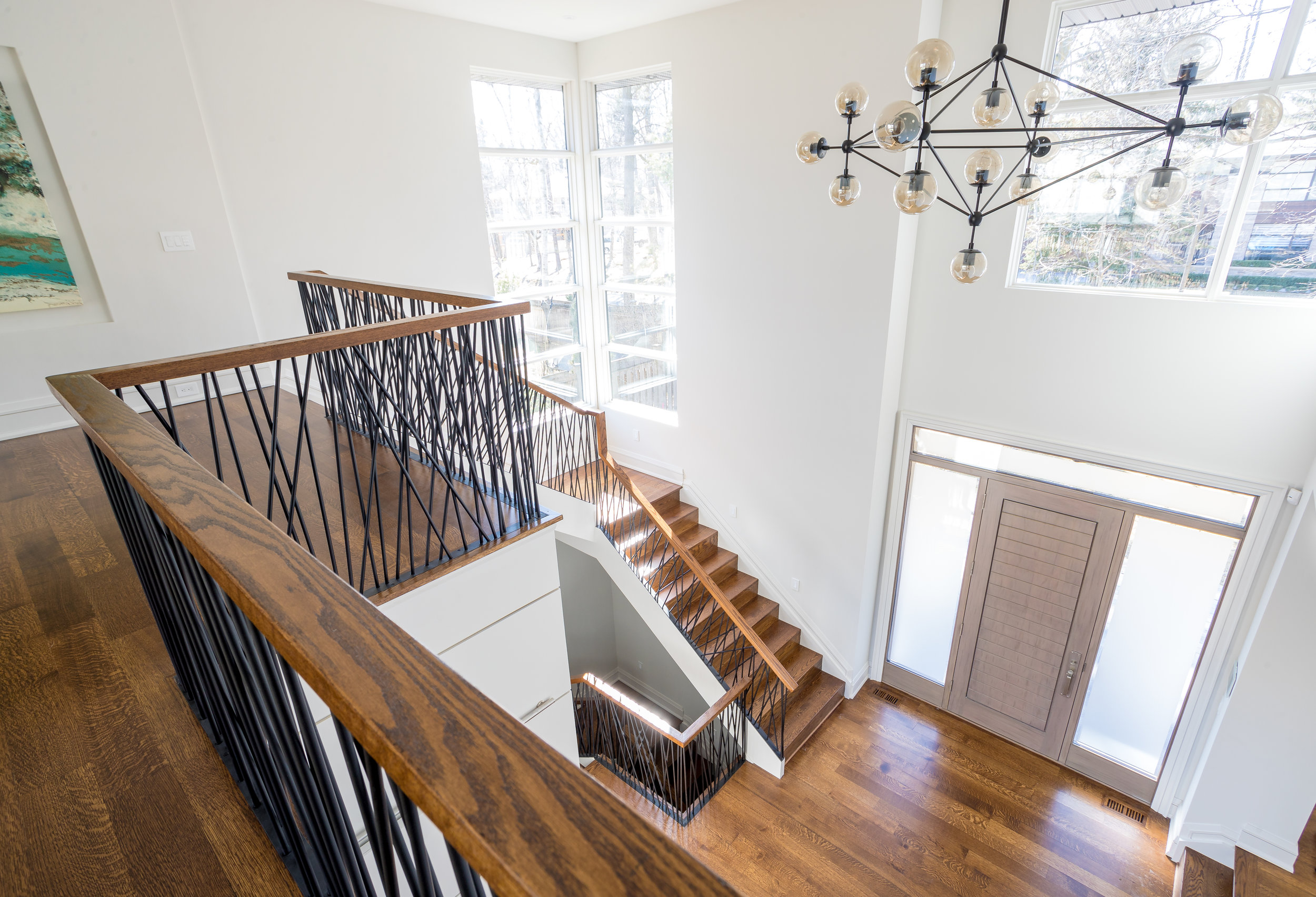 port credit-interior design-staircase-robson hallford