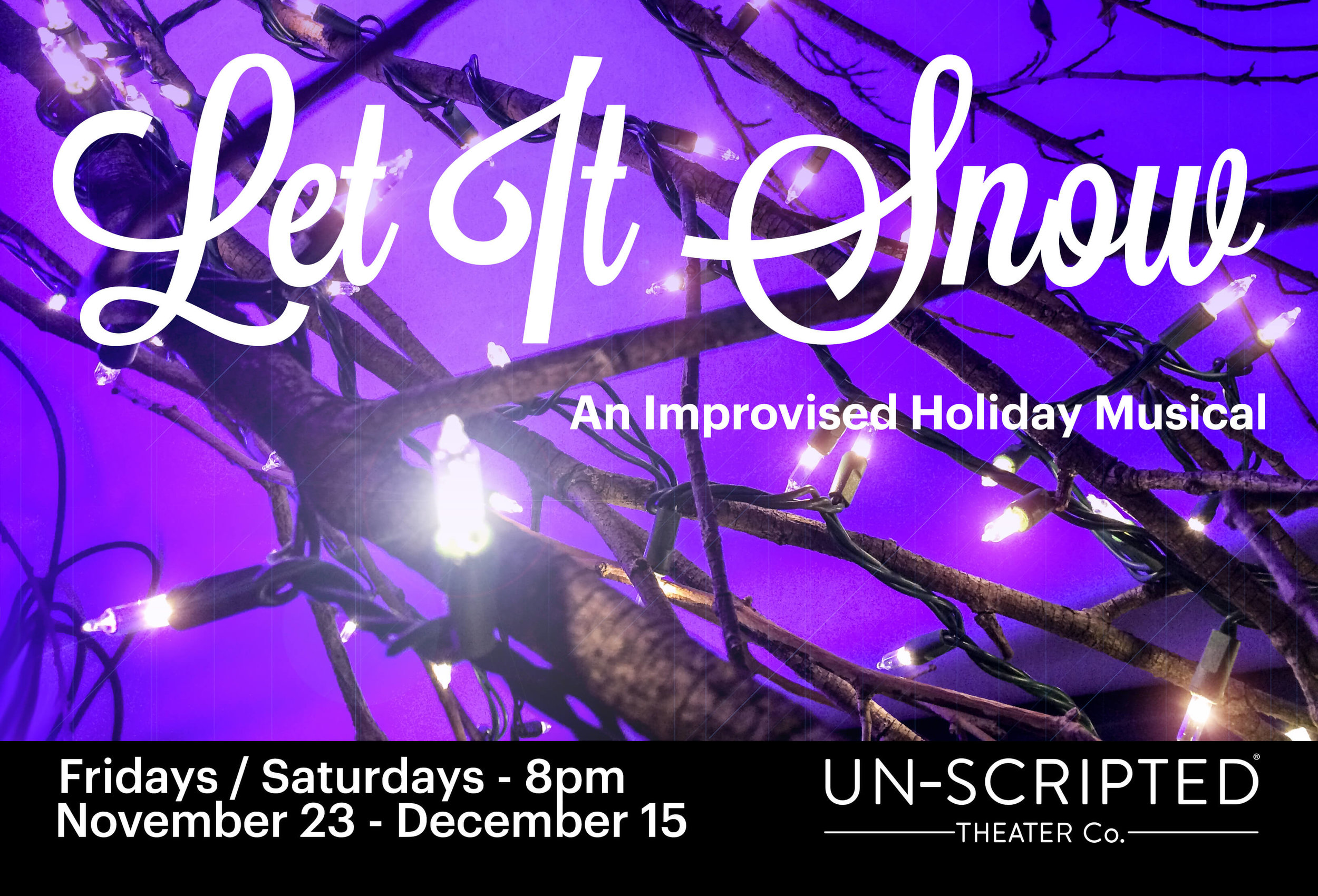 Let It Snow — SF Improv Theater | Un-Scripted Theater Company